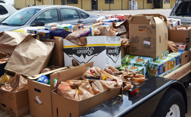 Food Pantry Stock Image